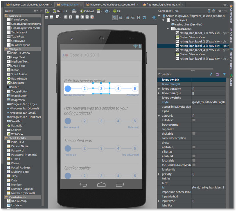 android studio how to create a list app