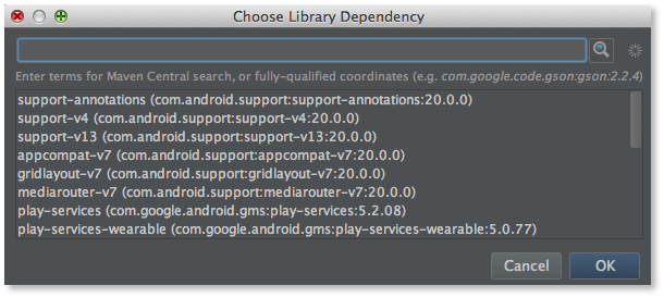 support annotations android studio project site